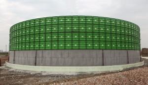 Резервоари за биогаз F