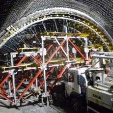 Кофраж за тунелно строителство
